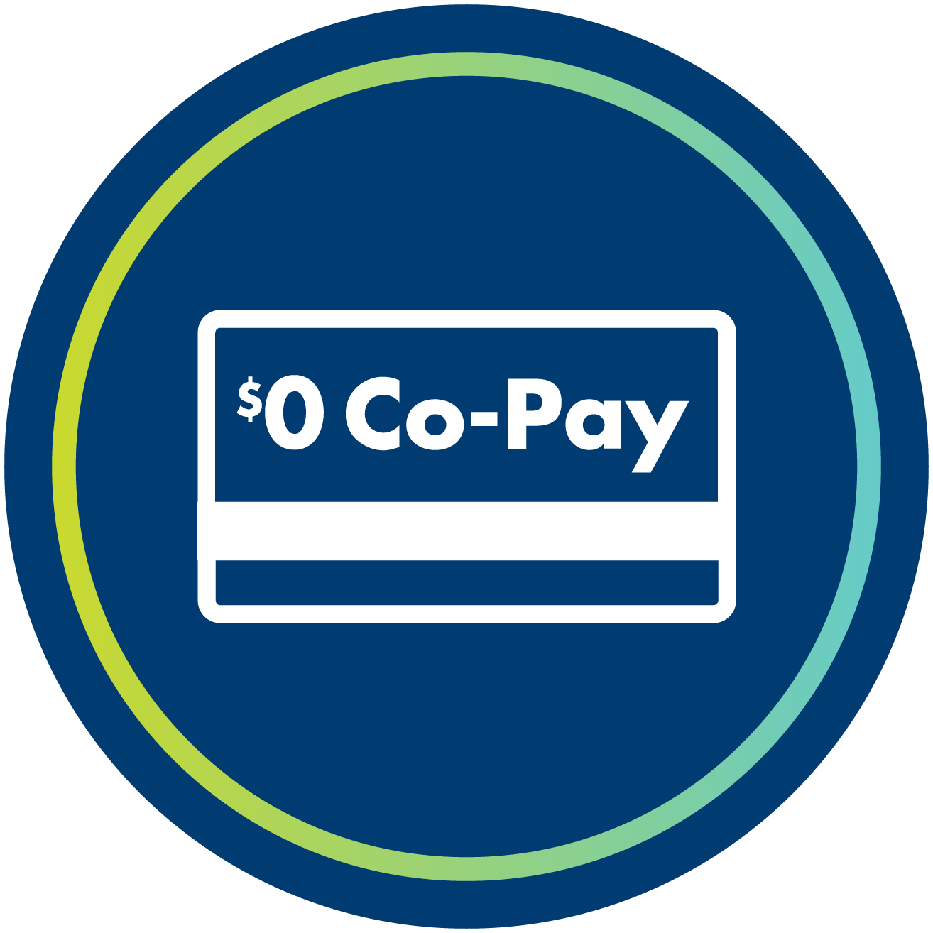 $0 Co-Pay Icon